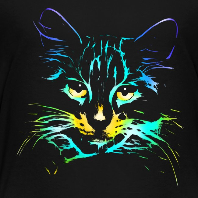 Vorschau: color kitty - Kinder Premium T-Shirt