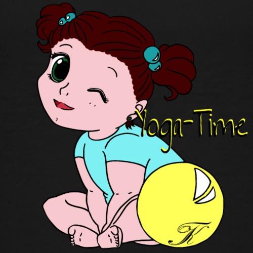 Yoga-Time - Kinder Premium T-Shirt