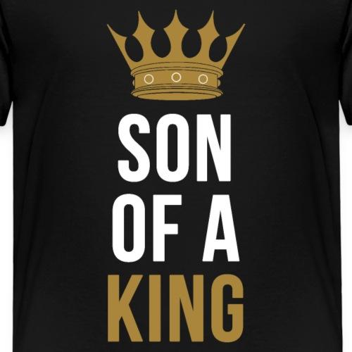 Son of a King Vater Sohn partnerlook - Kinder Premium T-Shirt