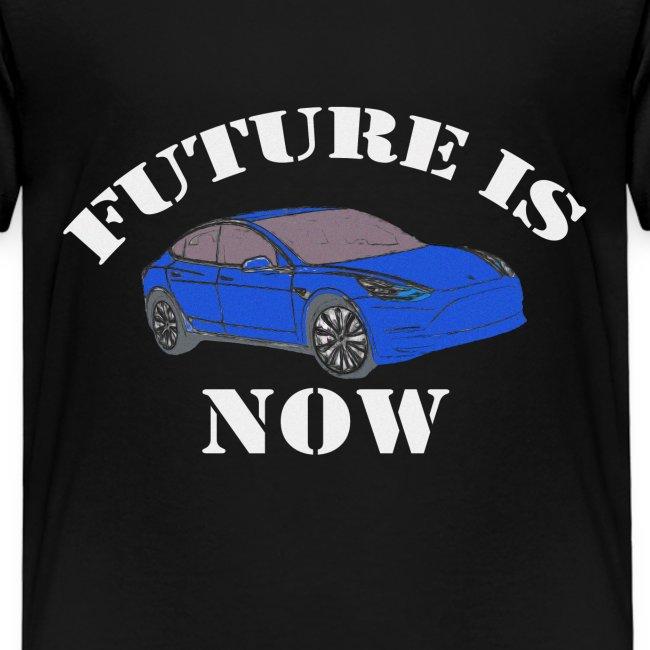 Zukunft ist jetzt Elektroauto E-Auto Geschenk