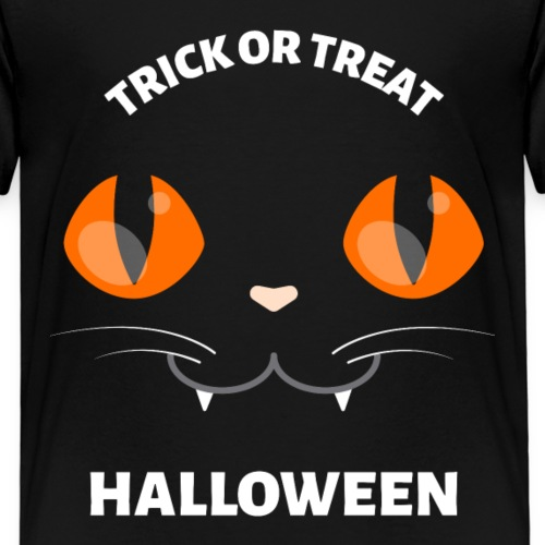 Gato Vampiro Halloween Truco o Trato - Camiseta premium niño