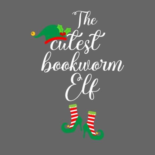 Elf książkowy miłośnik książek i czytania - Koszulka dziecięca Premium