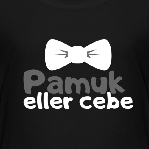Pamuk eller cebe / Bayram - Kinder Premium T-Shirt