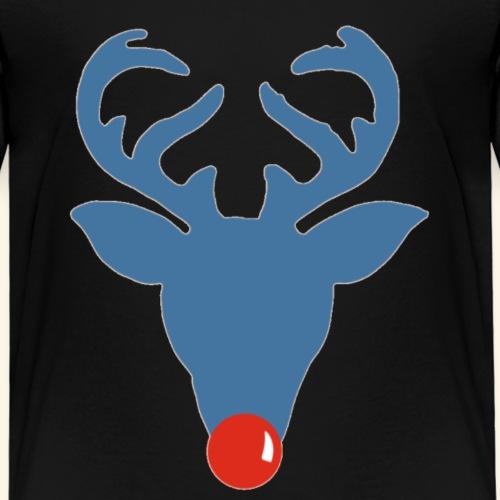 Rudolf meets Rode Neuzen Dag - T-shirt Premium Enfant