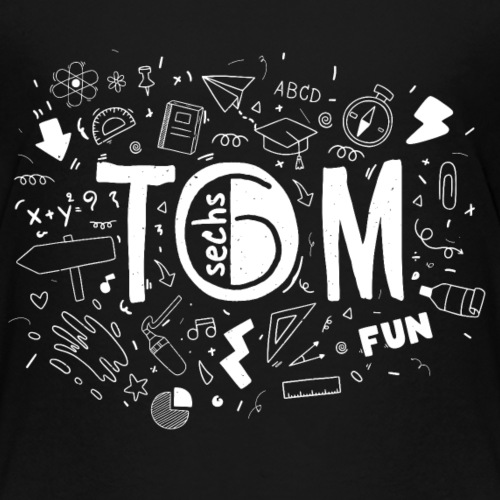 Tom go to School - Kinder Premium T-Shirt