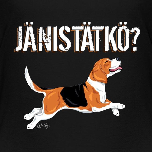 Jänistätkö Beagle