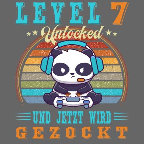 Gamer Geburtstag Level Up 7 Jahre Jungen - Kinder Premium T-Shirt