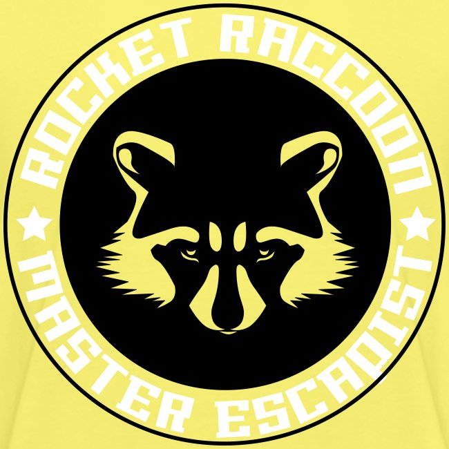 Rocket raccoon logo full