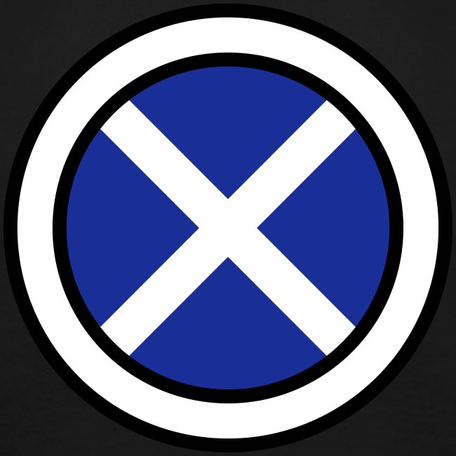 Scottish Button Saltire
