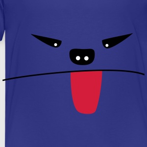 Monstre qui tire la langue - T-shirt Premium Enfant