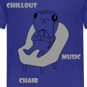 chiller cat - Kinderen Premium T-shirt