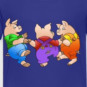 three piglets - Kids' Premium T-Shirt