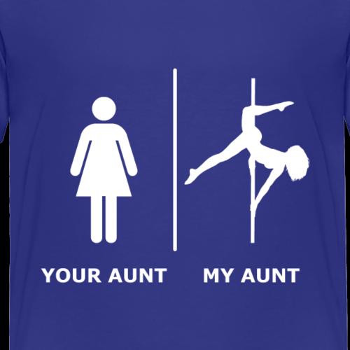 Your Aunt I My Aunt, weiß - Kinder Premium T-Shirt