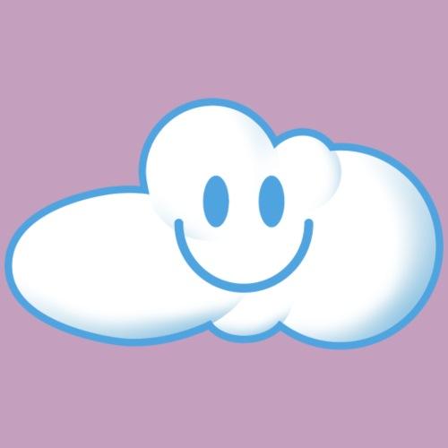 Kleine niedliche lachende Wolken - Kinder Premium T-Shirt