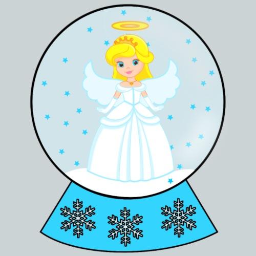Snow globe angel - Kids' Premium T-Shirt