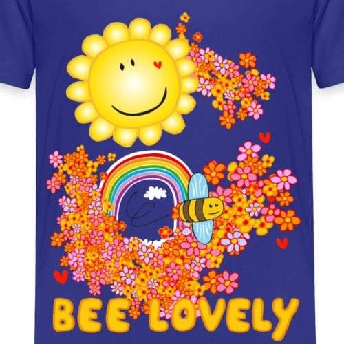 Bee Lovely - Bee Beautiful Collection - Kinderen Premium T-shirt