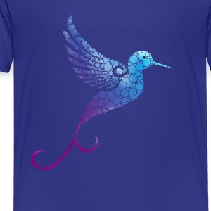 kolobri Mandala flight bird Funny cute cute bla - Kids' Premium T-Shirt