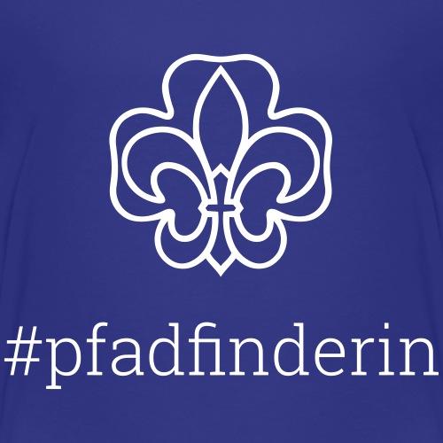 #pfadfinderin - Kinder Premium T-Shirt