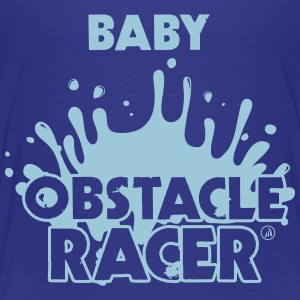 Baby Hindring Racer - Børne premium T-shirt
