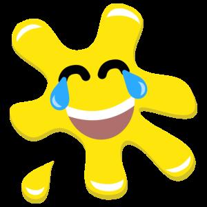 Splatz - Yellow Laugh 2 - Kids' Premium T-Shirt