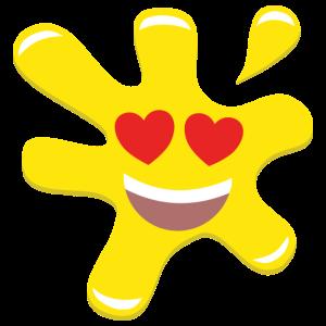 Splatz - Yellow Love 1 - Kids' Premium T-Shirt