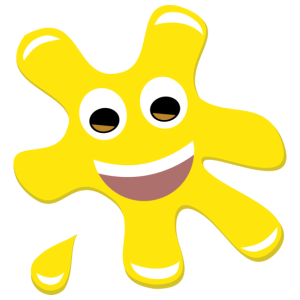 Splatz - Yellow Smile 2 - Kids' Premium T-Shirt