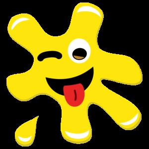 Splatz - Yellow Cheeky 2 - Kids' Premium T-Shirt