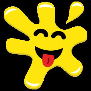 Splatz - Yellow Happy 1 - Kids' Premium T-Shirt