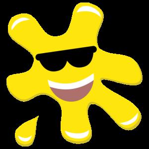 Splatz - Yellow Cool 2 - Kids' Premium T-Shirt