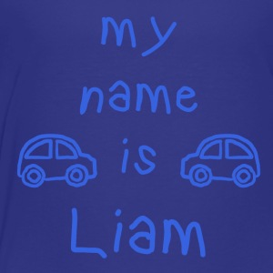 MY NAME Liam - Premium T-skjorte for barn