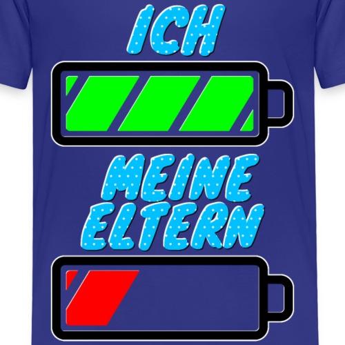 Ich - Meine Eltern 002 | Lustiges Motiv für Kinder - Kinder Premium T-Shirt