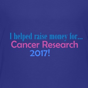 CANCER RESEARCH 2017! - Premium T-skjorte for barn