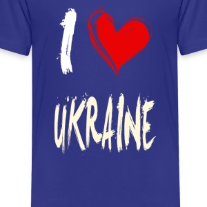 I love ukraine - Kids' Premium T-Shirt