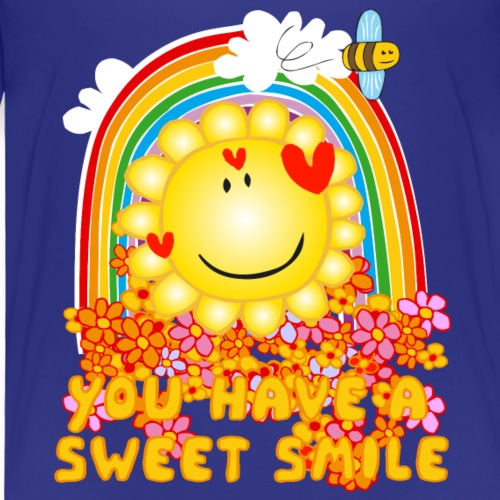 Bee Beautiful Collection - You have a sweet smile - Kinderen Premium T-shirt