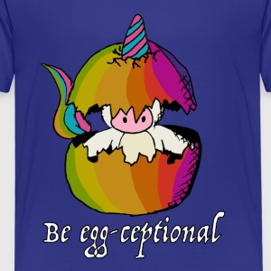 Unicorns are Egg-ceptional - Kids' Premium T-Shirt