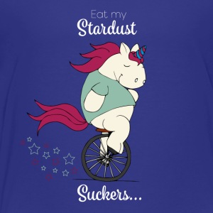 Foolish Pummelhorn Eat my stardust, suckers - Kids' Premium T-Shirt