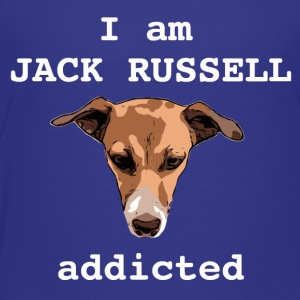 Jack russel addicted white - Kids' Premium T-Shirt