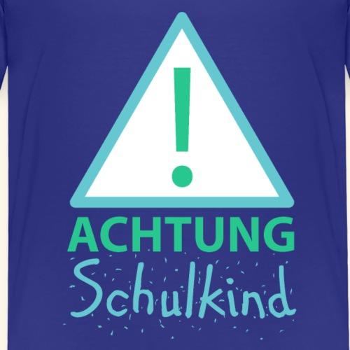 Achtung Schulkind - Kinder Premium T-Shirt