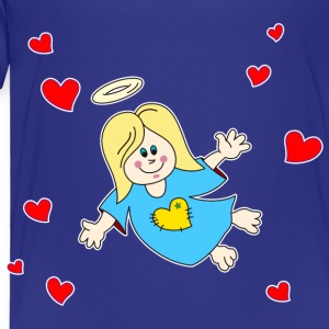 Angel Elf Fairy hearts Valentine Halo - Kids' Premium T-Shirt
