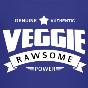 Veggie Rawsome Power - Kinder Premium T-Shirt