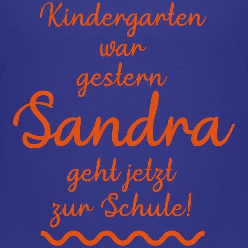 Kindergarten war gestern (Sandra) - Kinder Premium T-Shirt