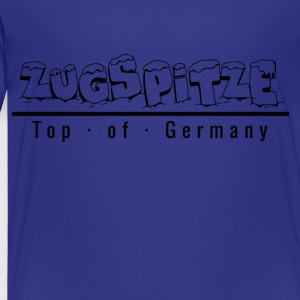 Zugspitze med snö - Top of Germany - Premium-T-shirt barn