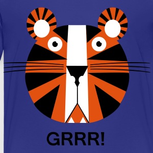 Tigers for children - Kids' Premium T-Shirt