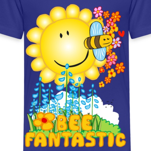 Bee Fantastic - Bee Beautiful Collection - Kinderen Premium T-shirt