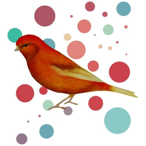 Kanarienvogel Buntes Vogelmotiv2 - Kinder Premium T-Shirt