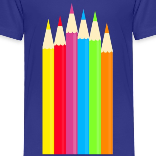 Buntstifte - Kinder Premium T-Shirt