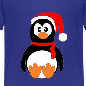 Christmas Penguin - Premium-T-shirt barn