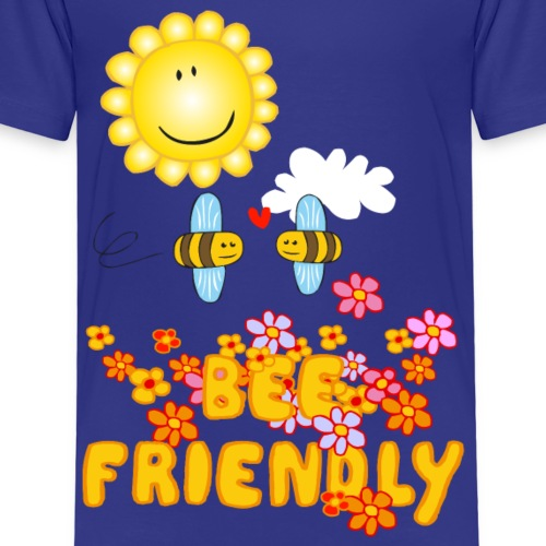 Bee Beautiful Collection - Bee Friendly - Kinderen Premium T-shirt