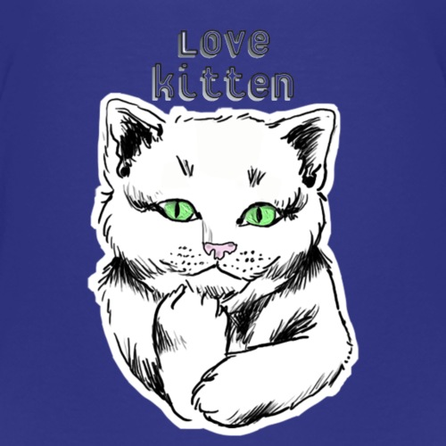 Love Cat - T-shirt Premium Enfant