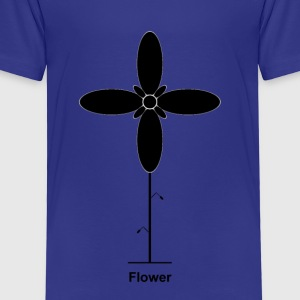 Geometry / special series / Flower / without background - Kids' Premium T-Shirt